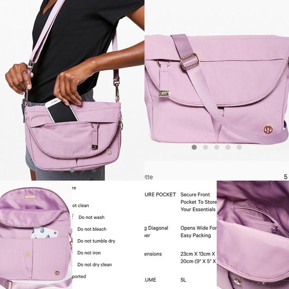 lululemon athletica Handbags - Lululemon 5L all night festival bag Antoinette